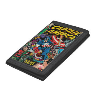 Captain America Comic #112 Trifold Wallets