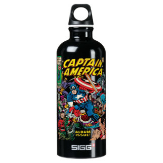 Captain America Comic #112 Water Bottle