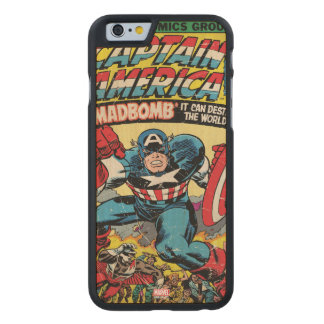 Captain America Comic #193 Carved Maple iPhone 6 Case