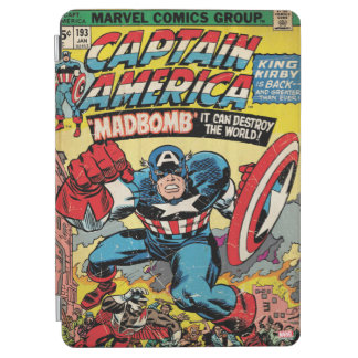Captain America Comic #193 iPad Air Cover