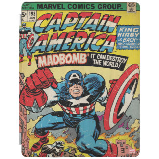 Captain America Comic #193 iPad Cover