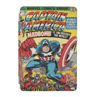 Captain America Comic #193 iPad Mini Cover