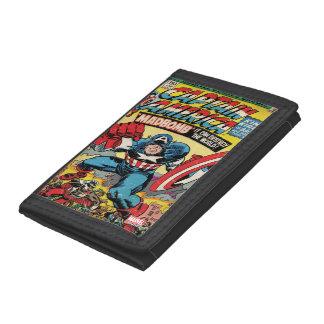 Captain America Comic #193 Tri-fold Wallet