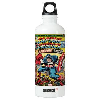 Captain America Comic #193 Water Bottle