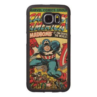 Captain America Comic #193 Wood Phone Case