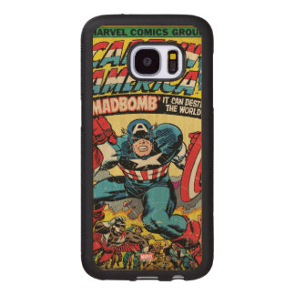 Captain America Comic #193 Wood Samsung Galaxy S7 Case