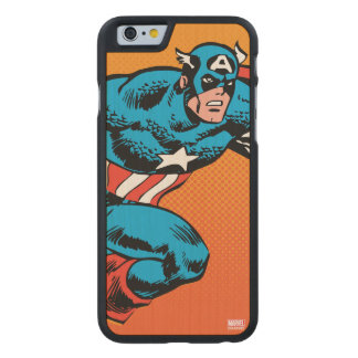 Captain America Dash Carved Maple iPhone 6 Case