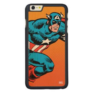 Captain America Dash Carved® Maple iPhone 6 Plus Case