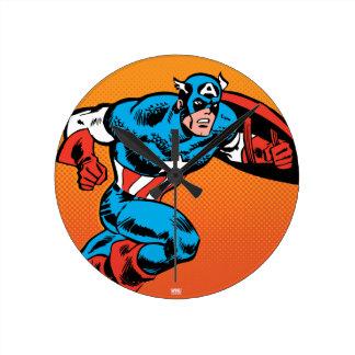 Captain America Dash Clocks
