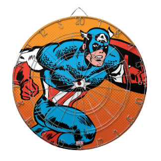 Captain America Dash Dartboard