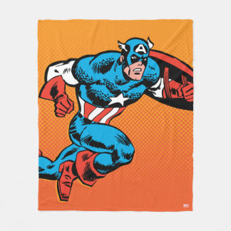 Captain America Dash Fleece Blanket