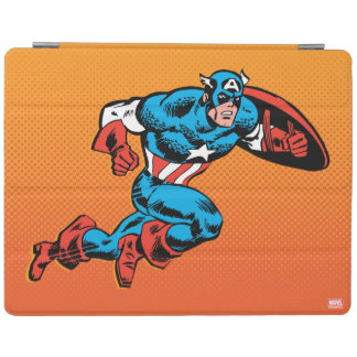Captain America Dash iPad Cover