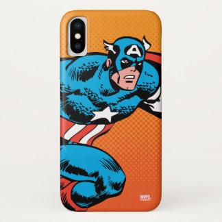 Captain America Dash iPhone X Case