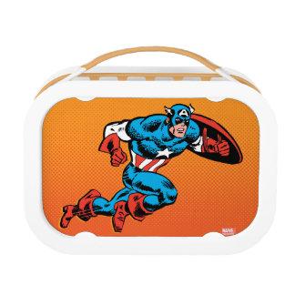 Captain America Dash Lunch Box