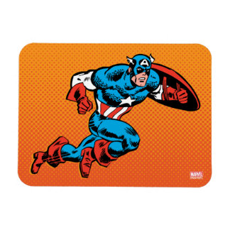 Captain America Dash Rectangular Photo Magnet
