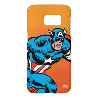 Captain America Dash Samsung Galaxy S7 Case