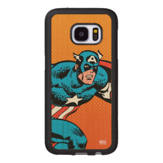Captain America Dash Wood Samsung Galaxy S7 Case