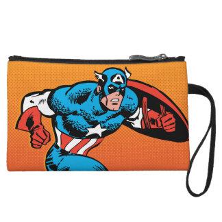 Captain America Dash Wristlet