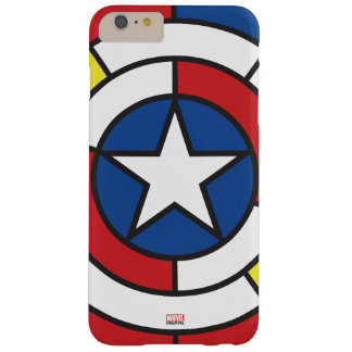 Captain America De Stijl Abstract Shield Barely There iPhone 6 Plus Case