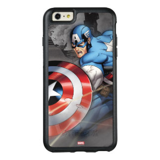 Captain America Deflecting Attack OtterBox iPhone 6/6s Plus Case