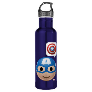 Captain America Emoji 710 Ml Water Bottle