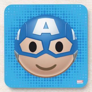 Captain America Emoji Coaster