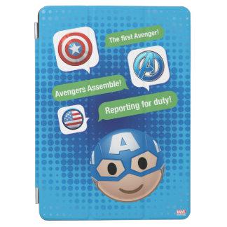 Captain America Emoji iPad Air Cover
