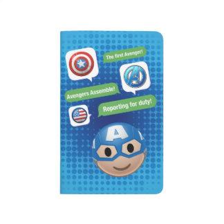 Captain America Emoji Journal