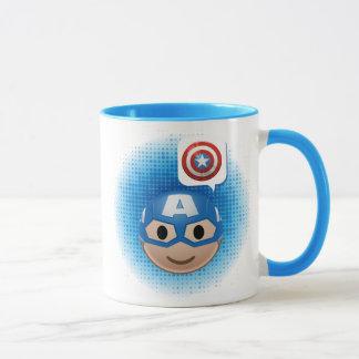 Captain America Emoji Mug
