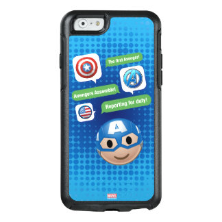 Captain America Emoji OtterBox iPhone 6/6s Case