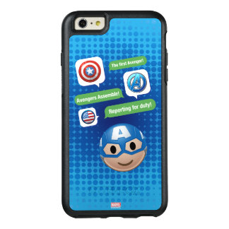 Captain America Emoji OtterBox iPhone 6/6s Plus Case