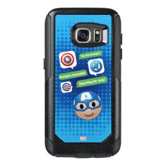Captain America Emoji OtterBox Samsung Galaxy S7 Case
