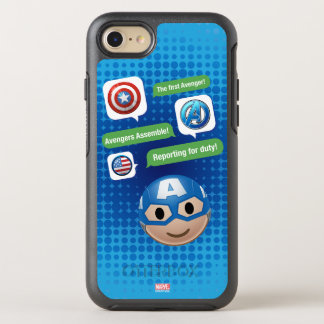 Captain America Emoji OtterBox Symmetry iPhone 8/7 Case