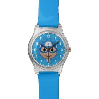 Captain America Emoji Watch