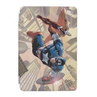 Captain America & Falcon Comic Panel iPad Mini Cover