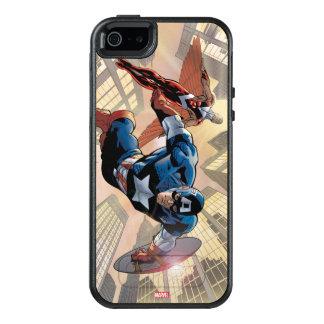 Captain America & Falcon Comic Panel OtterBox iPhone 5/5s/SE Case