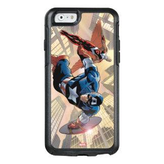 Captain America & Falcon Comic Panel OtterBox iPhone 6/6s Case