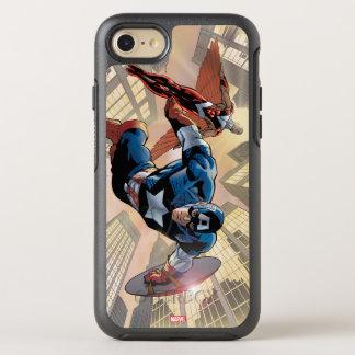 Captain America & Falcon Comic Panel OtterBox Symmetry iPhone 7 Case