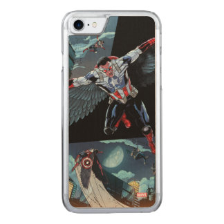 Captain America Fighting Crime Carved iPhone 8/7 Case