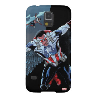 Captain America Fighting Crime Galaxy S5 Cover