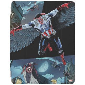 Captain America Fighting Crime iPad Cover