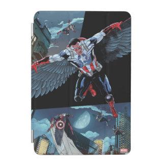Captain America Fighting Crime iPad Mini Cover