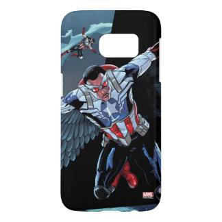 Captain America Fighting Crime Samsung Galaxy S7 Case