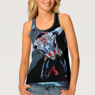 Captain America Fighting Crime Tank Top