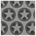 Captain America Grunge Shield Fabric