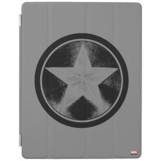 Captain America Grunge Shield iPad Cover