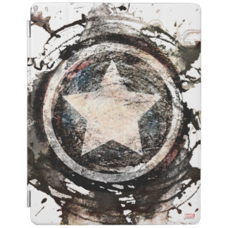 Captain America Grunge Shield iPad Cover