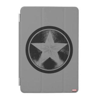 Captain America Grunge Shield iPad Mini Cover
