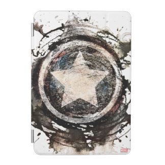 Captain America Grunge Shield iPad Mini Cover