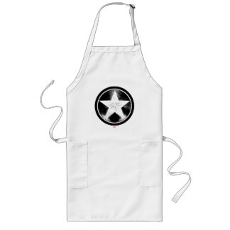 Captain America Grunge Shield Long Apron